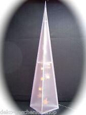 LED piramide con hologrammeffekt 60 cm timer FINESTRA NEGOZIO DECORAZIONE 70006