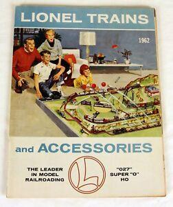 Original Lionel 1962 Advance Catalog