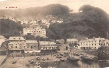 POSTCARD   DEVON      CLOVELLY    Circa  1906