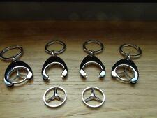 4 x Mercedes Benz Schlüsselanhänger AMG Stern A B C E GLE GLC SL ML CLS GLA CDI