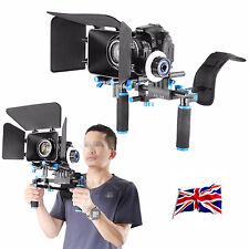 REGNO Unito Nuovo DSLR Rig Kit di montaggio a Spalla Rig con follow focus e Matte Box
