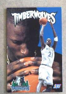MINNESOTA TIMBERWOLVES NBA BASKETBALL MEDIA GUIDE - 1996 1997 - NEAR MINT