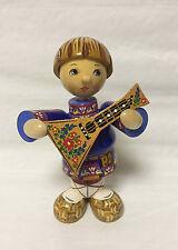 Russian Matryoshka - Handmade Linden Wood Doll - Boy Vanya Medium #6