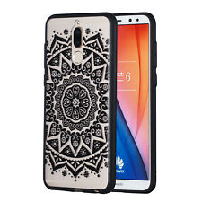 Hybrid PC + TPU Phone Back Case Painted Cover For Huawei Honor 7A Y5 Y7 Y9 2018
