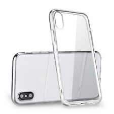 For Apple iPhone X Case Crystal Clear Bumper Silicone Gel iPhone 10 Soft Cover