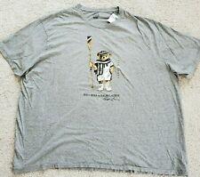 Big & Tall Polo Ralph Lauren Mens Polo Bear 2XB T-Shirt Gray