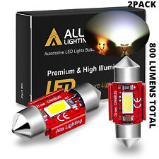 Alla Lighting LED Dome Map Interior Light Bulbs/ Trunk Cargo Lamps White DE3175