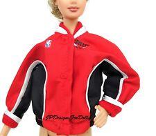 Barbie Nba Chicago Bulls Rojo Blanco Y Negro Chaqueta