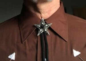 Five-Pointed Star BOLO TIE