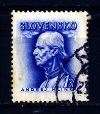 SLOVAKIA - SLOVACCHIA - 1943 - Andrej Hlinka (1864-1938), uomo politico e sacerd