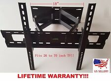 Full Motion 119 LCD Plasma TV Wall Mount 32 37 40 42 46 47 50 52 55 60 65 70