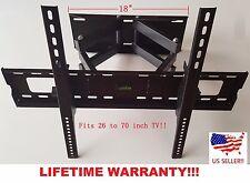Full Motion 119 LCD Plasma TV Wall Mount 32 37 40 42 46 47 50 52 55 60 65 70