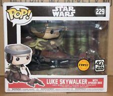 Funko POP Star Wars Chase Luke Skywalker with Speeder Bike !!!