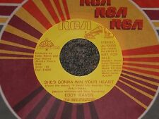"Eddy Raven~She's Gonna Win Your Heart~1984 Country~7"" Single~PROMO~FAST SHIP!"
