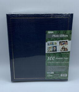Pioneer Photo Album With 100 Magnetic Pages Navy Blue LM-100