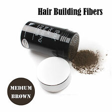 Dexe Hair Building Fibers Refill For Hair Loss Medium Brown 22g