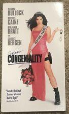 Miss Congeniality (VHS, 2001) Sandra Bullock, Michael Caine ***FREE SHIPPING***