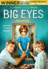 Big Eyes DVD Tim Burton Includes Mini Book