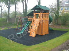 1 x Best Playground Rubber GRASS Mat 1500mm x 1000mm FREE Fixings FREE Delivery