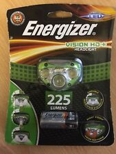 Energizer Vision HD+ 225 Lumens Headlight Including 3AAA Batteries