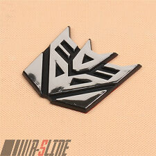 Decepticon Transformers Emblem Badge Decal Car Sticker Graphic About 2.3 Inch