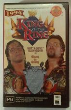 King Of The Ring '94 VHS 1994 WWF Coliseum / Columbia TriStar Hoyts Large Case