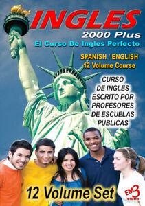 INGLES 2000 Plus - 12 Volume Course El Curso De Ingles Perfecto