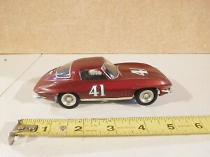 Strombecker Eldon 1/32 Scale Slot Car Corvette #41