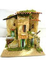 Casolare Artigianale Mod. 5 - Cm 15x20x20 - Casa Presepe Pastori