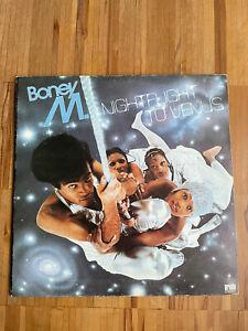 LP Vinyl 12 Inch Boney M, Nightflight to Venus