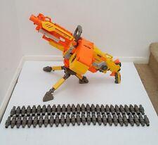 NERF N STRIKE VULCAN EBF-25 AUTOMATIC MACHINE GUN TRIPOD AMMO BOX & BELT C-044A