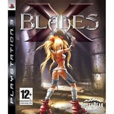 X Blades PS3 PlayStation 3 Video Game Mint Condition UK Release