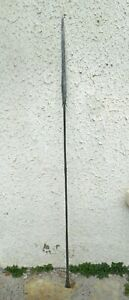 OLD AFRICAN  TUAREG SPEAR ORIGIN, MID-19TH CENTURY, ALL IN DECORATED METAL