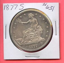 1877-S T$1 Silver Trade Dollar. Uncirculated. Lot #203