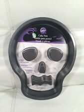 Wilton Skull Cake Pan #7792 Non-Stick New