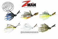 Z Man ChatterBait Weedless Project Z Bladed Swim Jig 1/2oz - Pick