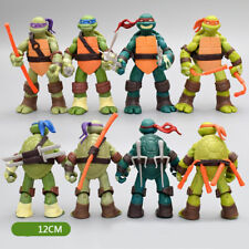 4 pieces/lot Teenage mutant ninja turtles decoration handmade model Kids toy