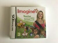 Nintendo DS Game - Imagine Teacher School Trip - New and sealed -  UBISOFT