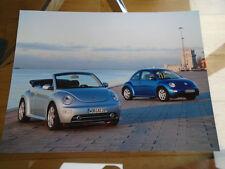 VW Beetle & Beetle Cabriolet Press Photo Feb 2003