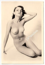 #875 ROESSLER AKTFOTO / NUDE WOMAN STUDY * Vintage 1950s Studio Photo - no PC !
