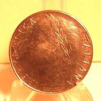CIRCULATED 1980 100 LIRA ITALIAN COIN (61117)1.....FREE SHIPPING !!!!!