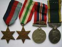 WWII M.I.D. and Territorial Efficiency medal group to Royal Signals