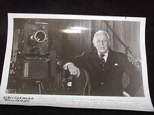 TV Star Promotional PHOTO, c1970s ALISTAIR COOKE, of Masterpiece Theatre