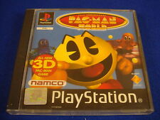 ps1 PAC MAN World Pac-Man 20th Anniversary Boxed Game COMPLETE PAL ps2 ps3