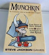 """Munchkin Card Game """"Kill the Monster..Grab the Treasure..Stab Your Buddy"""" #1408"""