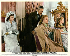 THE FORSYTHE SAGA ORIGINAL LOBBY CARD ERROL FLYNN GREER GARSON JANET LEIGH