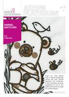 Animal Sketches Anita Goodesign Embroidery Design Machine CD