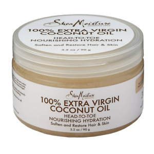 Shea Moisture 100% Extra Virgin Coconut Oil - 3.2 oz - Organic Ingredients