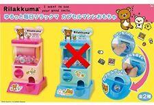 Rilakkuma Capsule Machine Toy Pink Colour SAN-X Amusement Japan Brand New A1877