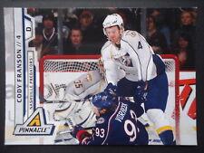 NHL 90 Cody Franson Nashville Predators Pinnacle 2011/12